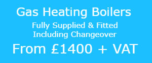 Gas heating boilers